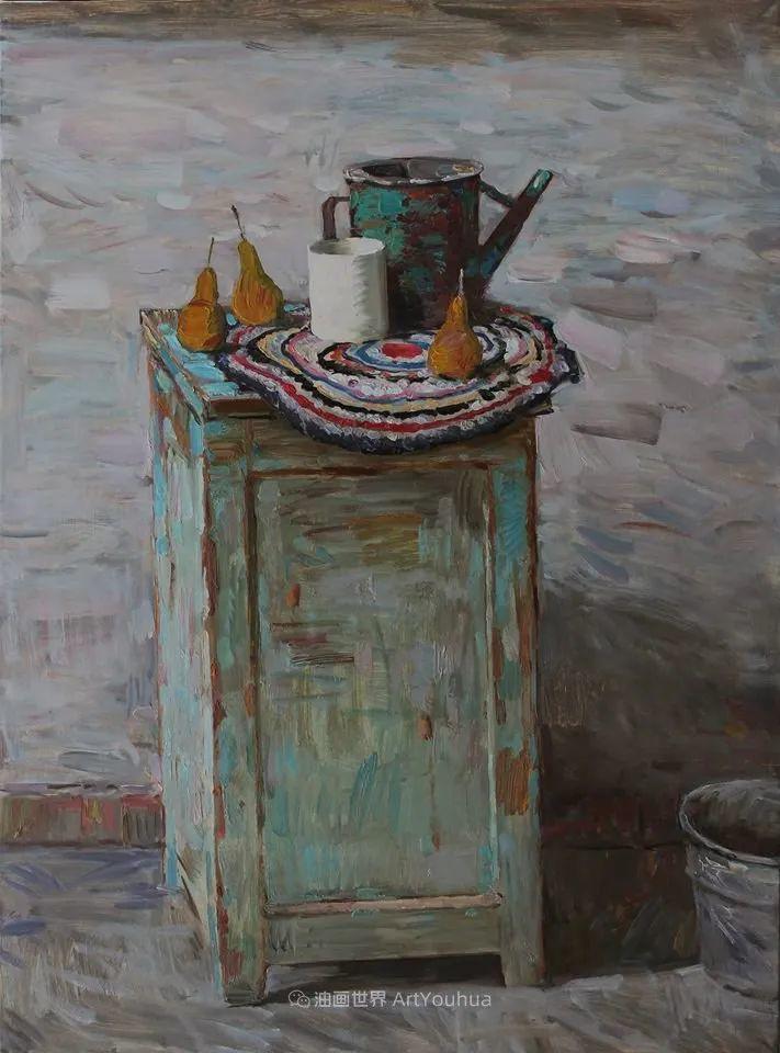 古典风格蛋彩画,俄罗斯画家弗拉基米尔·亚历山德罗维奇插图37