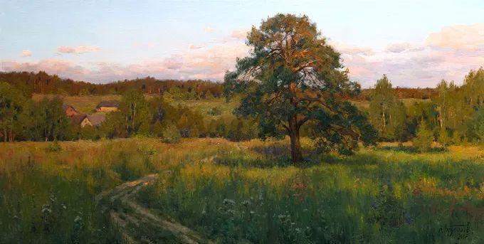 """岁月静好,俄罗斯"""" 小希施金 """" 的自然风景油画,美极了!插图79"""