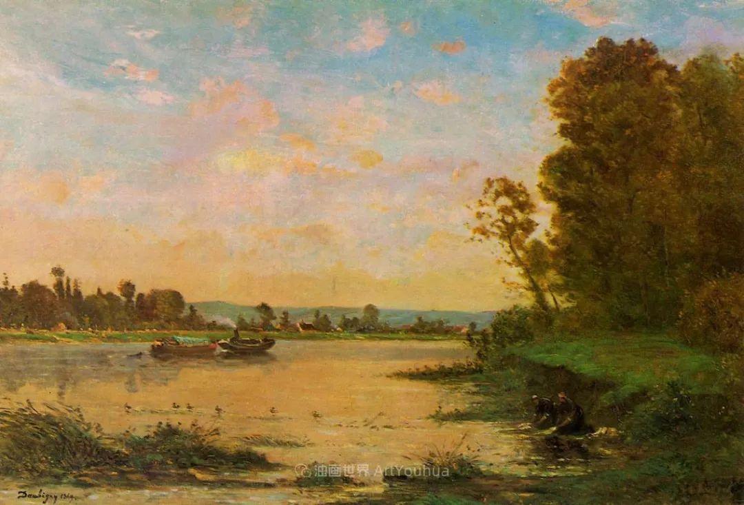 法国著名巴比松派风景画家——杜比尼插图89