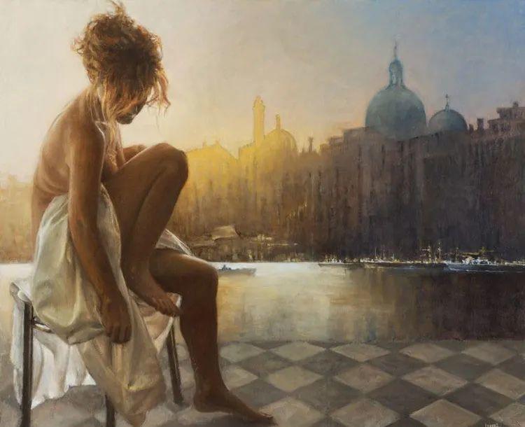 具象现实主义,波兰女画家阿丽娜·西贝拉插图67