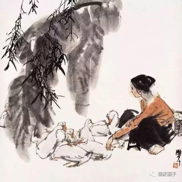 他不食人间烟火为画出家,妻子独守空房15年,画坛一代传奇插图43
