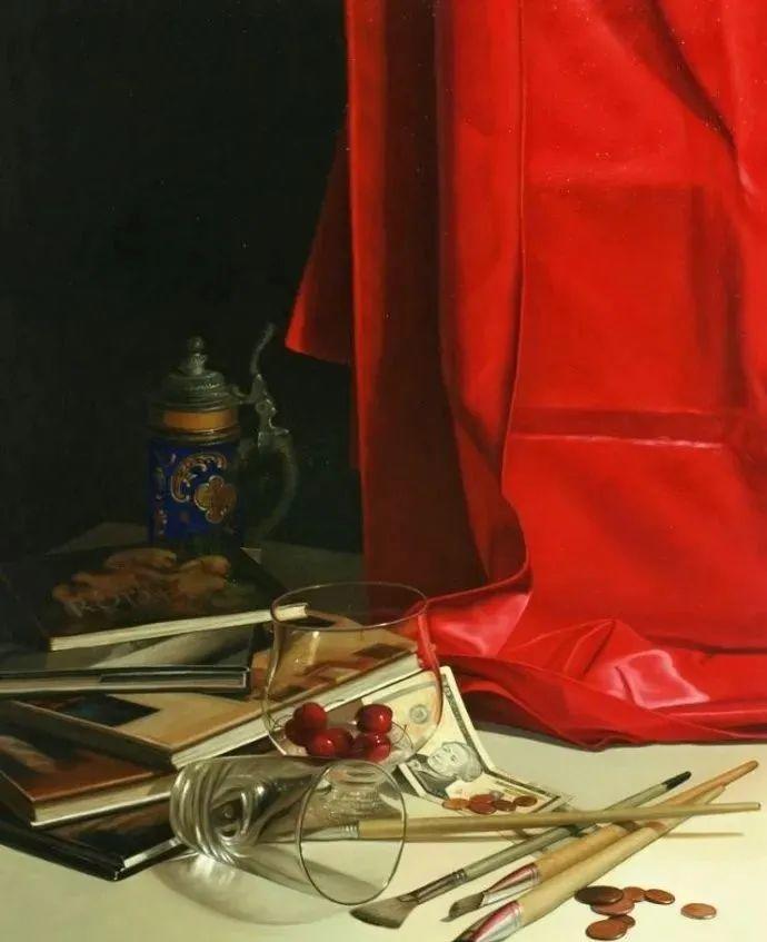 秘鲁自学成才艺术家的写实油画,展现着油画人物不同的美插图43