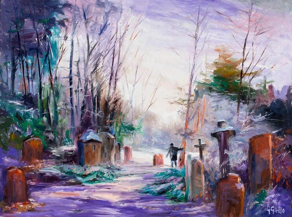 风景油画丨美国艺术家乔治·加洛的风景油画作品插图27
