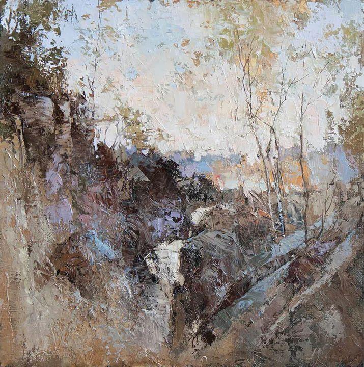 笔触率性,优雅朦胧的风景油画,迷人!插图67