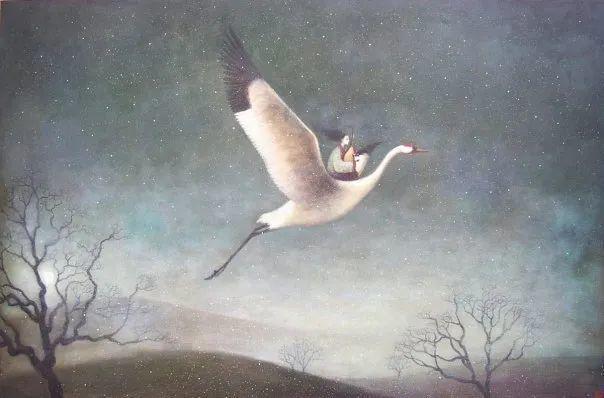 越南画家杜伊·怀恩的空灵绘画插图117