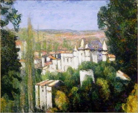 从律师到画家,法国后印象派画家维克多·查雷顿插图85
