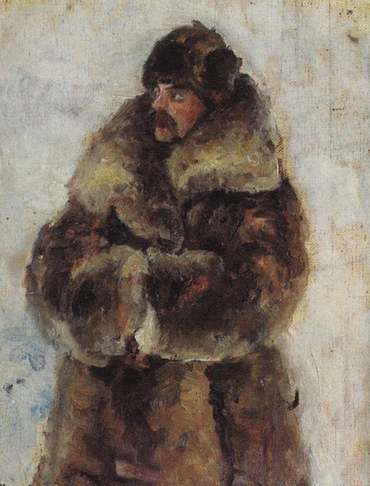 俄罗斯画坛先驱人物,瓦西里·苏里科夫人物作品选粹插图37