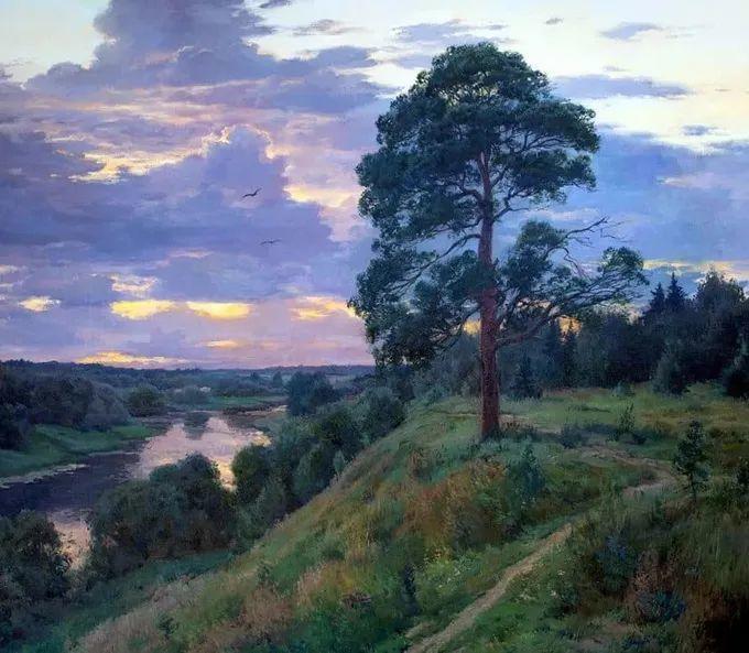 """岁月静好,俄罗斯"""" 小希施金 """" 的自然风景油画,美极了!插图27"""