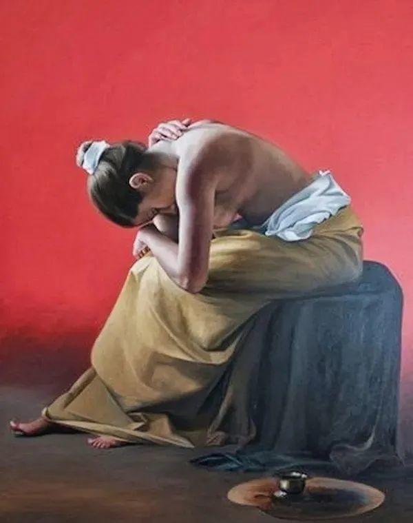 秘鲁自学成才艺术家的写实油画,展现着油画人物不同的美插图17