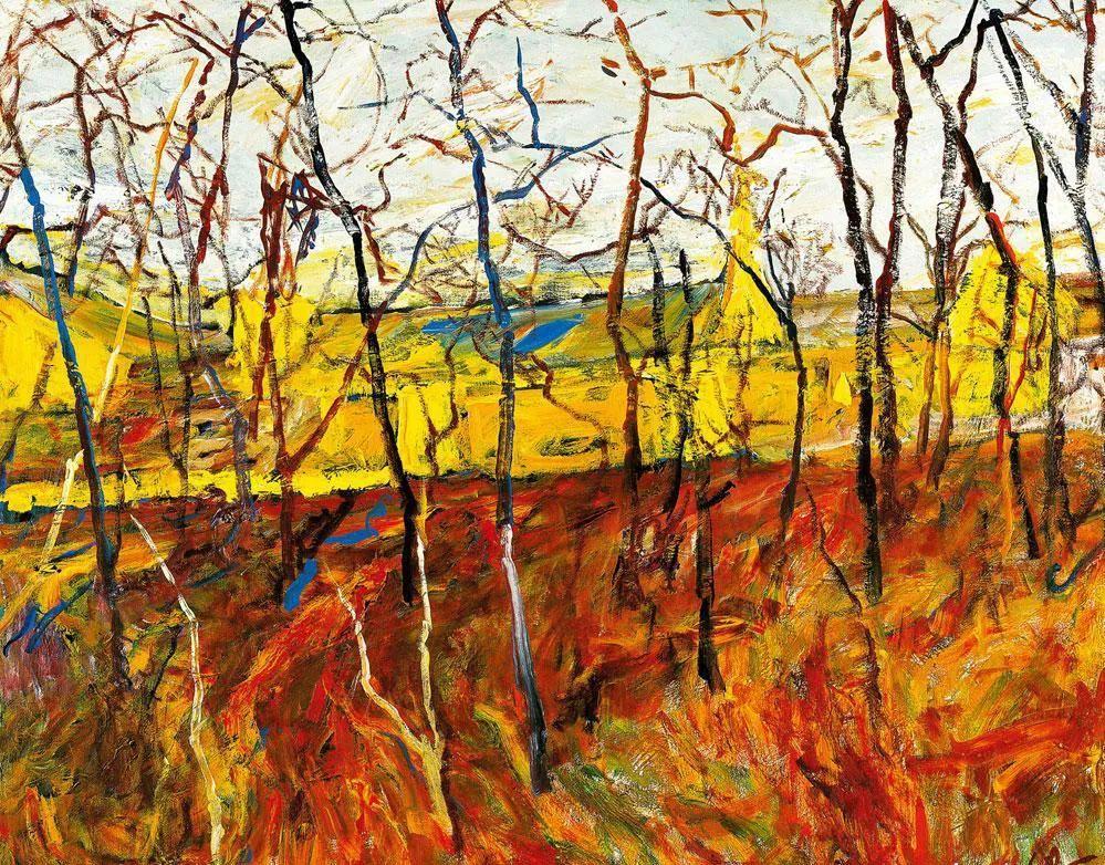 浓烈、明亮、斑斓、恣肆的色彩,这油画美极了插图99