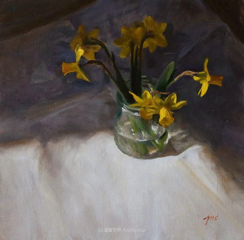 笔触下的肌理感,花卉与静物!插图1