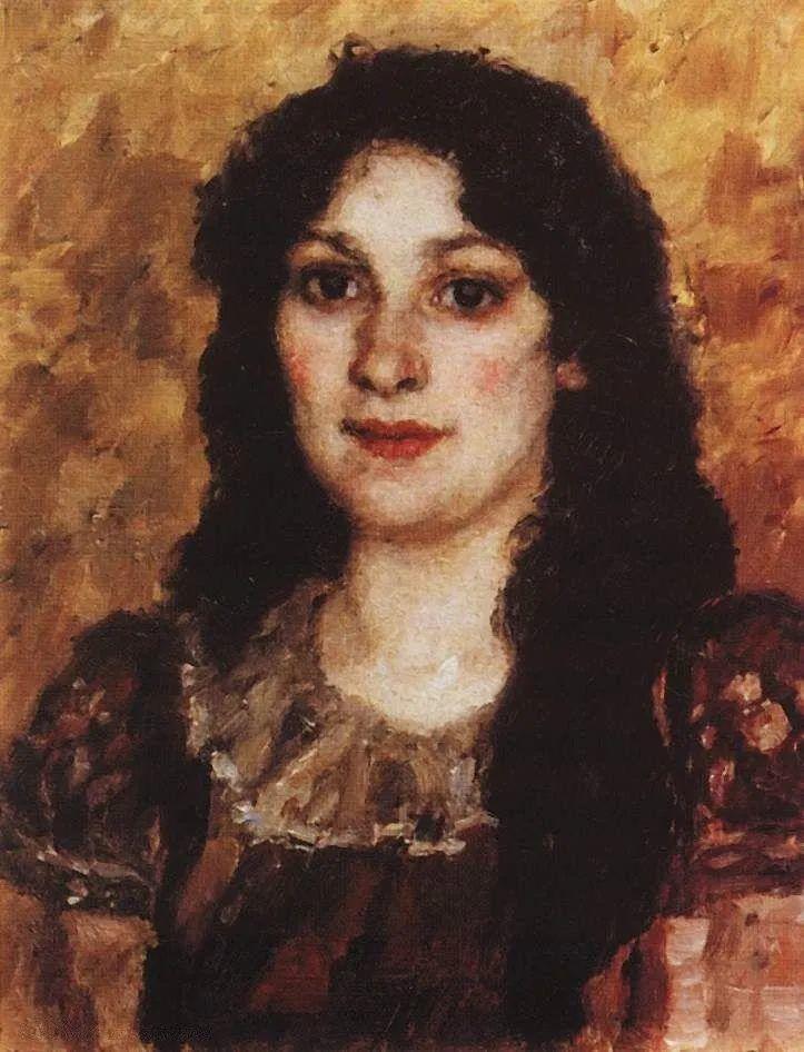 俄罗斯画坛先驱人物,瓦西里·苏里科夫人物作品选粹插图25