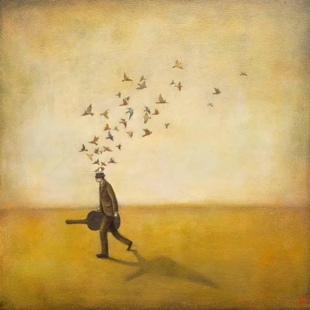 越南画家杜伊·怀恩的空灵绘画插图123