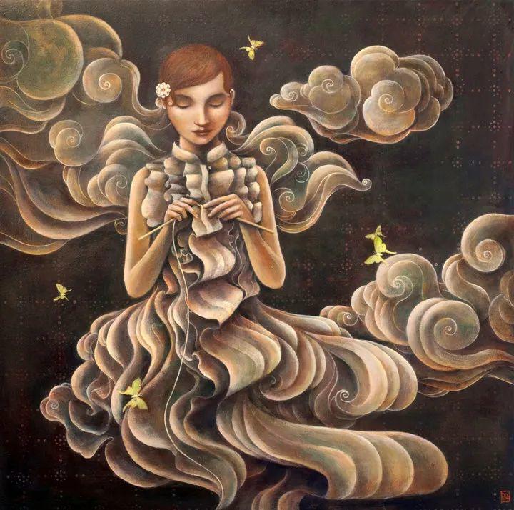 越南画家杜伊·怀恩的空灵绘画插图63