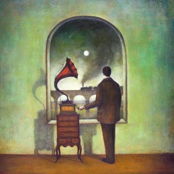 越南画家杜伊·怀恩的空灵绘画插图99