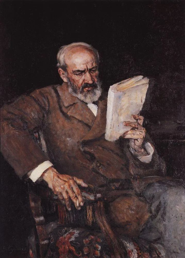 俄罗斯画坛先驱人物,瓦西里·苏里科夫人物作品选粹插图8