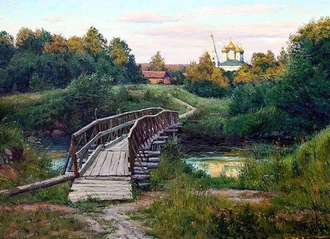 """岁月静好,俄罗斯"""" 小希施金 """" 的自然风景油画,美极了!插图63"""