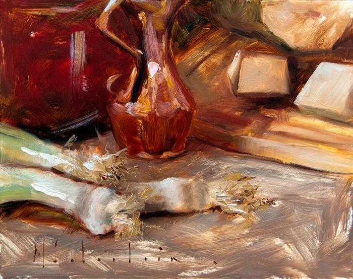 自学油画,她用真情描绘着周围的世界之美插图18