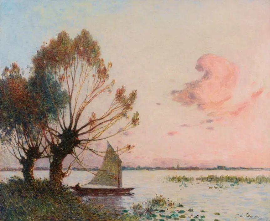 高更和德加的好友,法国画家费迪南德插图22