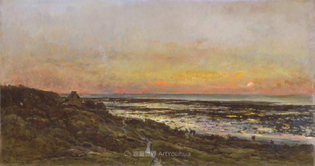 法国著名巴比松派风景画家——杜比尼插图87