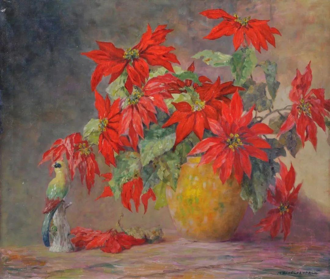学医的他,37岁才开始自学绘画,笔下五颜六色的花束,太美了!插图13