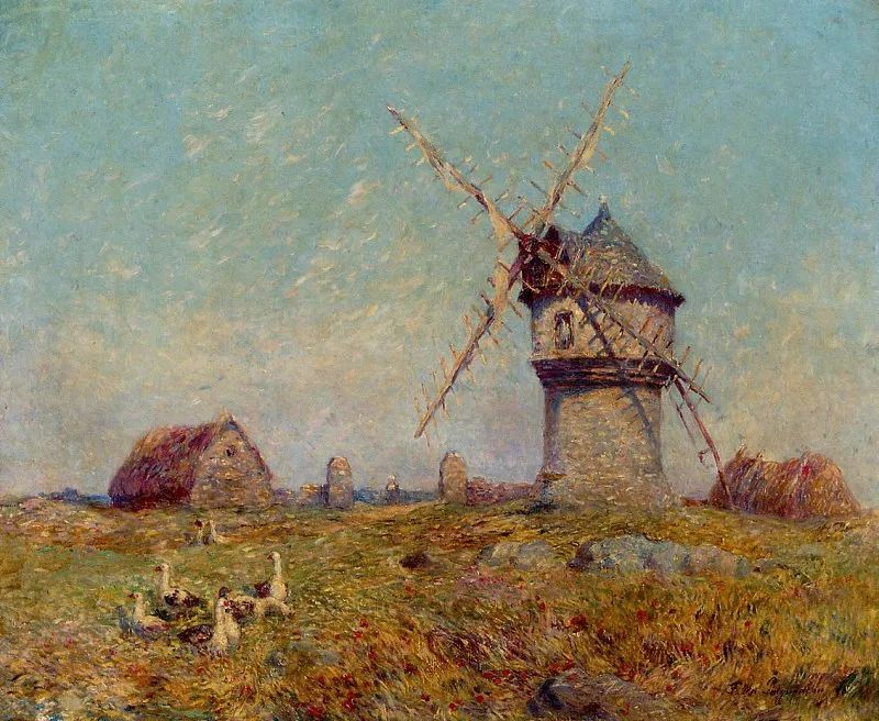 高更和德加的好友,法国画家费迪南德插图40
