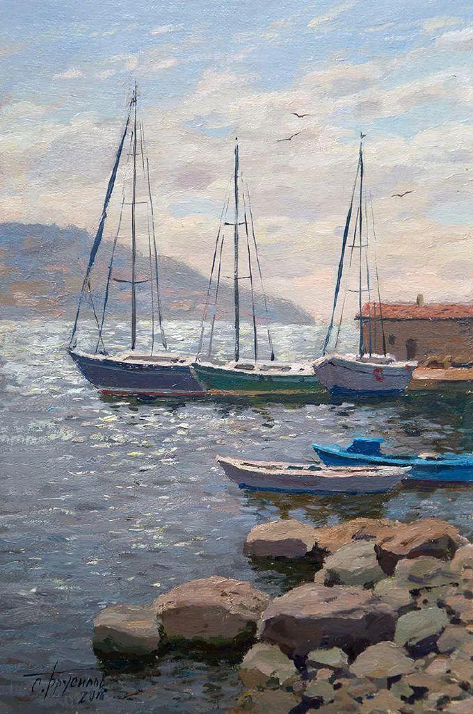 """岁月静好,俄罗斯"""" 小希施金 """" 的自然风景油画,美极了!插图87"""