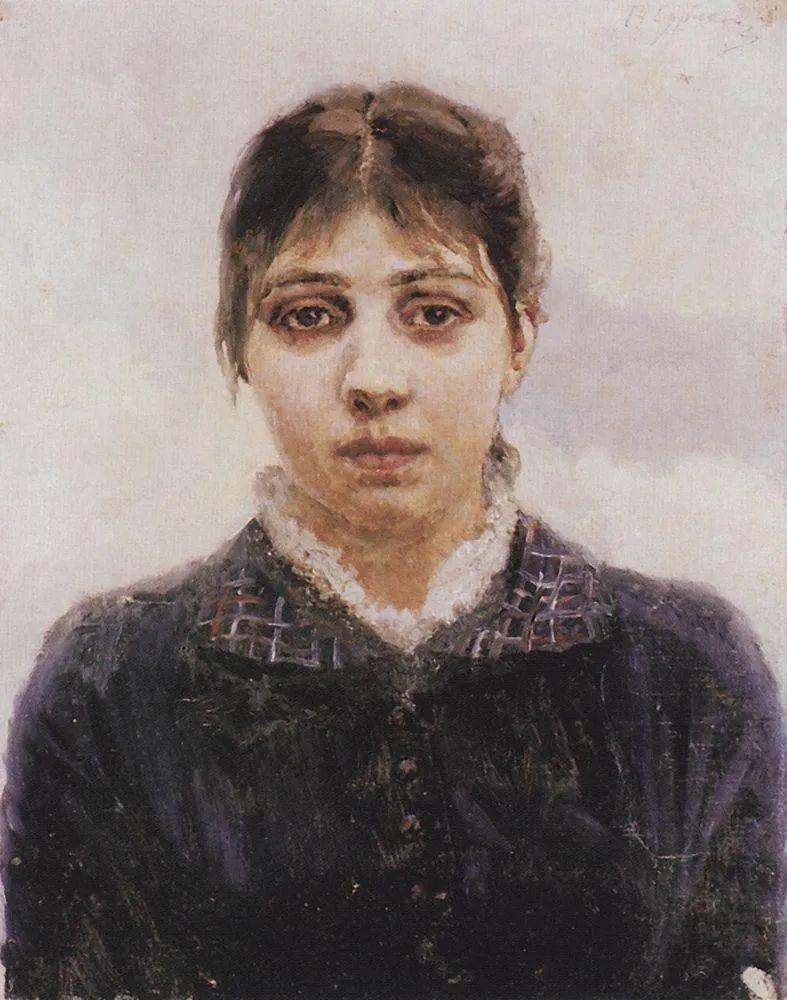 俄罗斯画坛先驱人物,瓦西里·苏里科夫人物作品选粹插图34