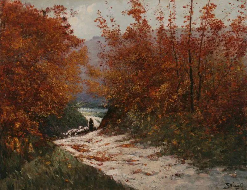 匈牙利杰出的自然风景画家——贝拉·斯潘依插图37
