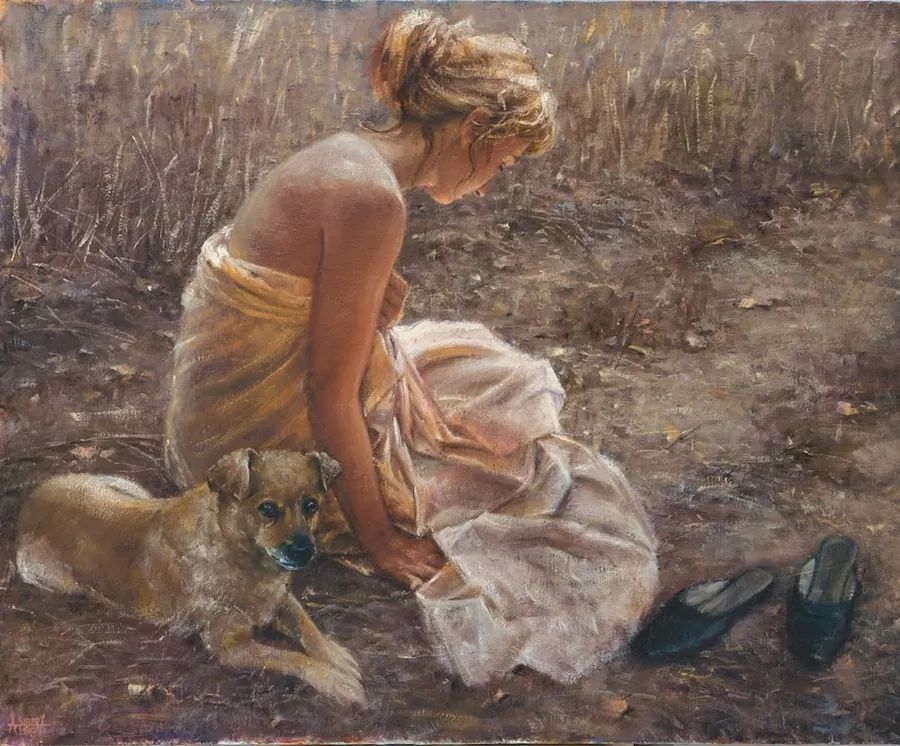 具象现实主义,波兰女画家阿丽娜·西贝拉插图55