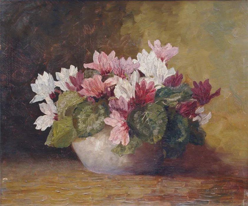 学医的他,37岁才开始自学绘画,笔下五颜六色的花束,太美了!插图43