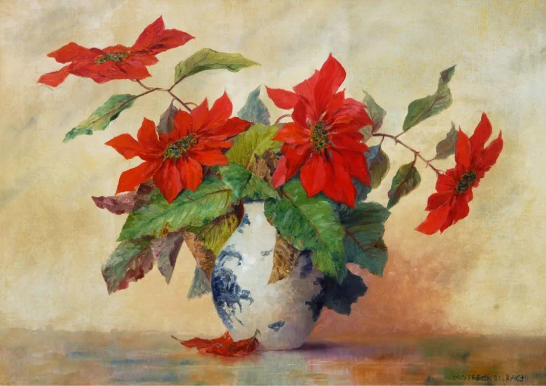 学医的他,37岁才开始自学绘画,笔下五颜六色的花束,太美了!插图11