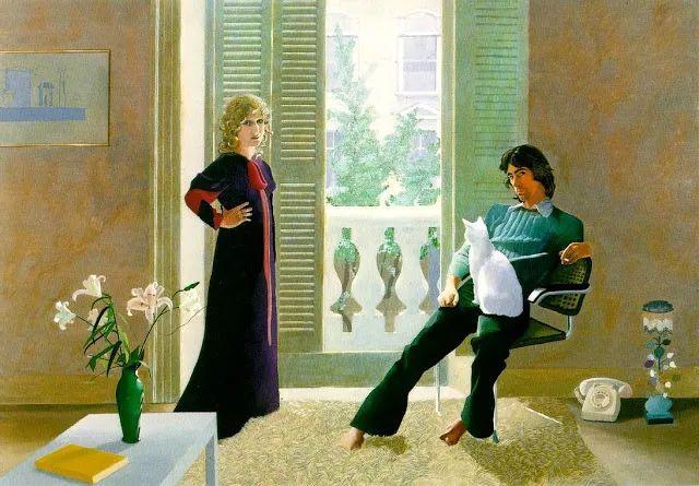 最著名的英国在世画家——大卫·霍克尼插图17