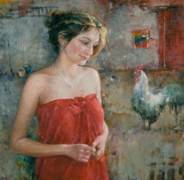 具象现实主义,波兰女画家阿丽娜·西贝拉插图43