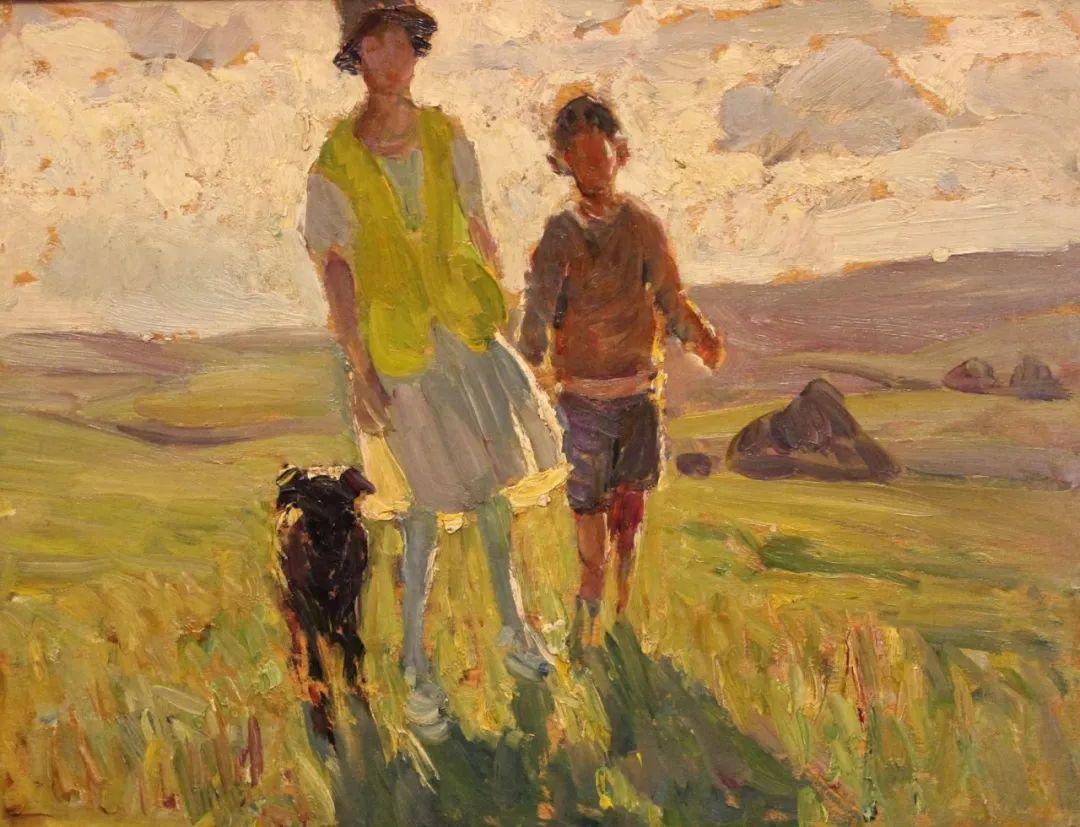 充满着写意风格的绘画,20世纪英国最伟大的女画家之一夏普插图17