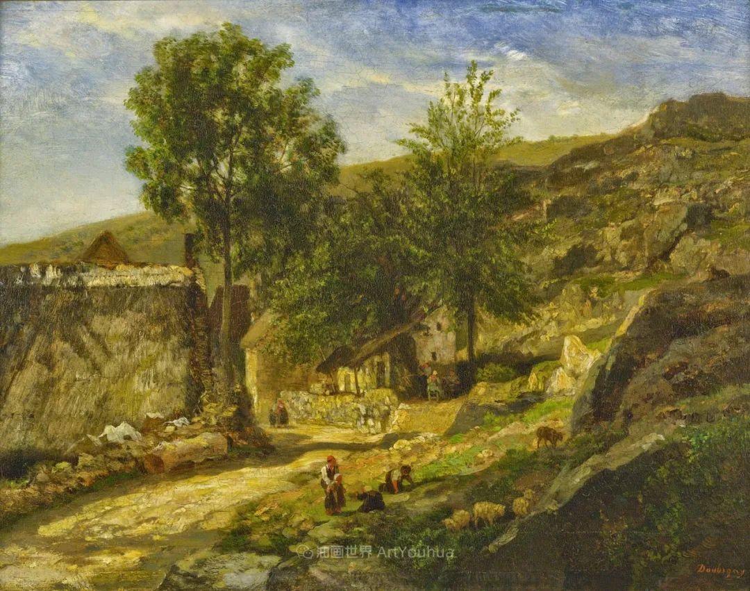 法国著名巴比松派风景画家——杜比尼插图51