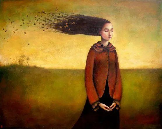 越南画家杜伊·怀恩的空灵绘画插图21