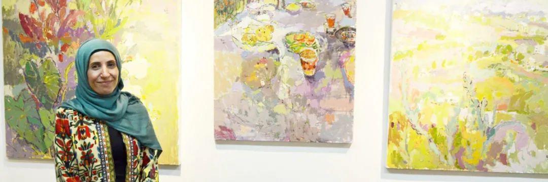 她的油画作品色彩丰富,充满爱意插图9