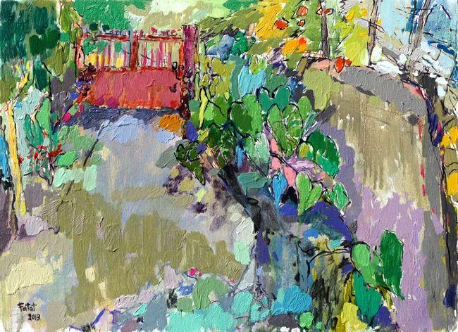 她的油画作品色彩丰富,充满爱意插图17