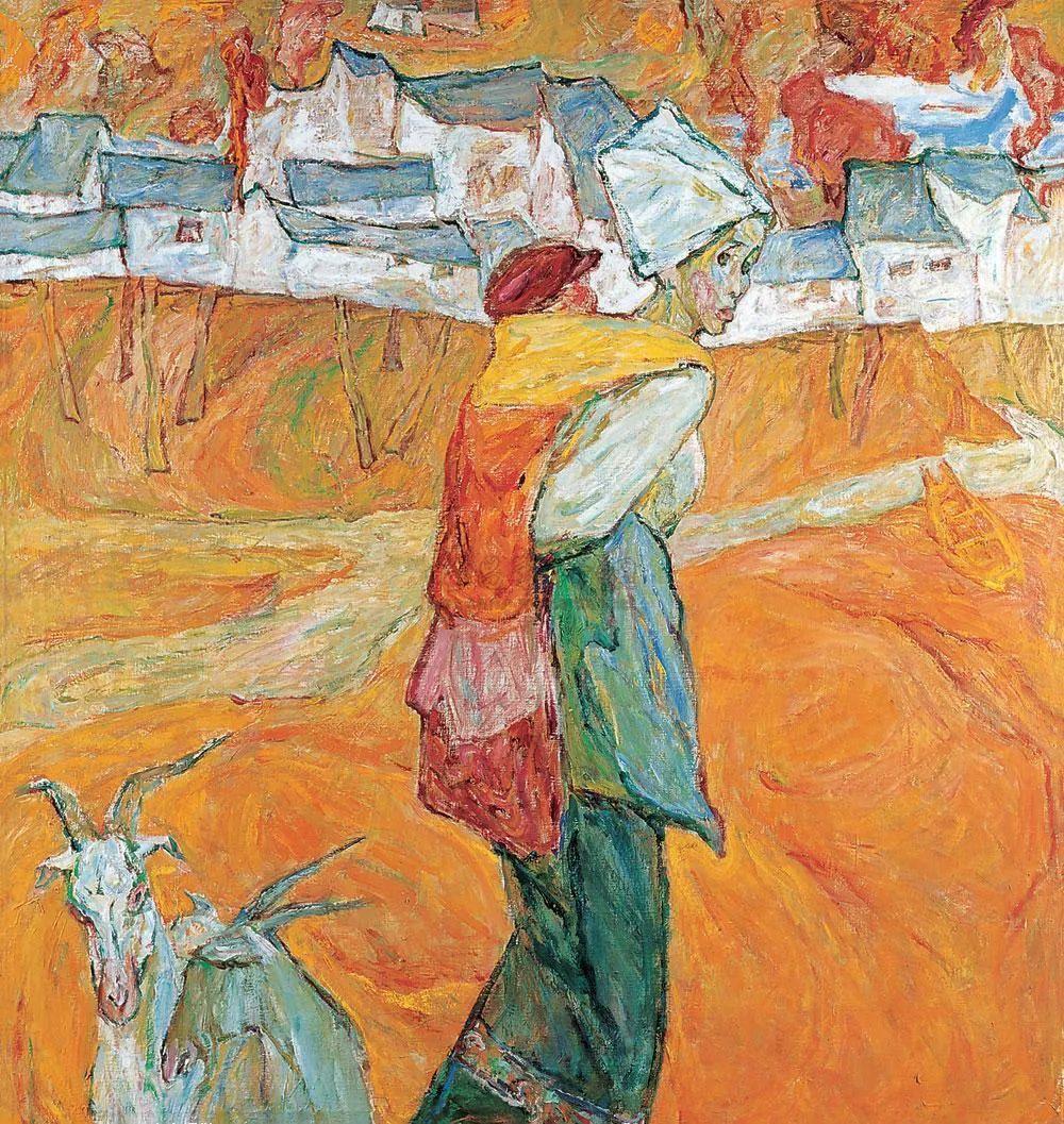 浓烈、明亮、斑斓、恣肆的色彩,这油画美极了插图57
