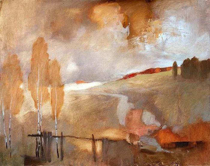 笔触率性,优雅朦胧的风景油画,迷人!插图43
