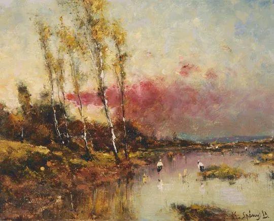 匈牙利杰出的自然风景画家——贝拉·斯潘依插图79
