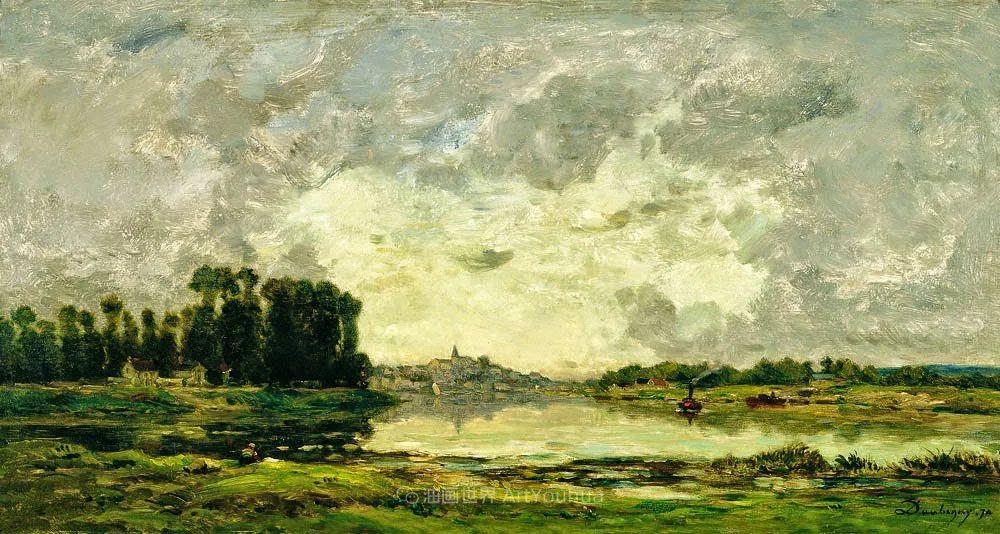 法国著名巴比松派风景画家——杜比尼插图33
