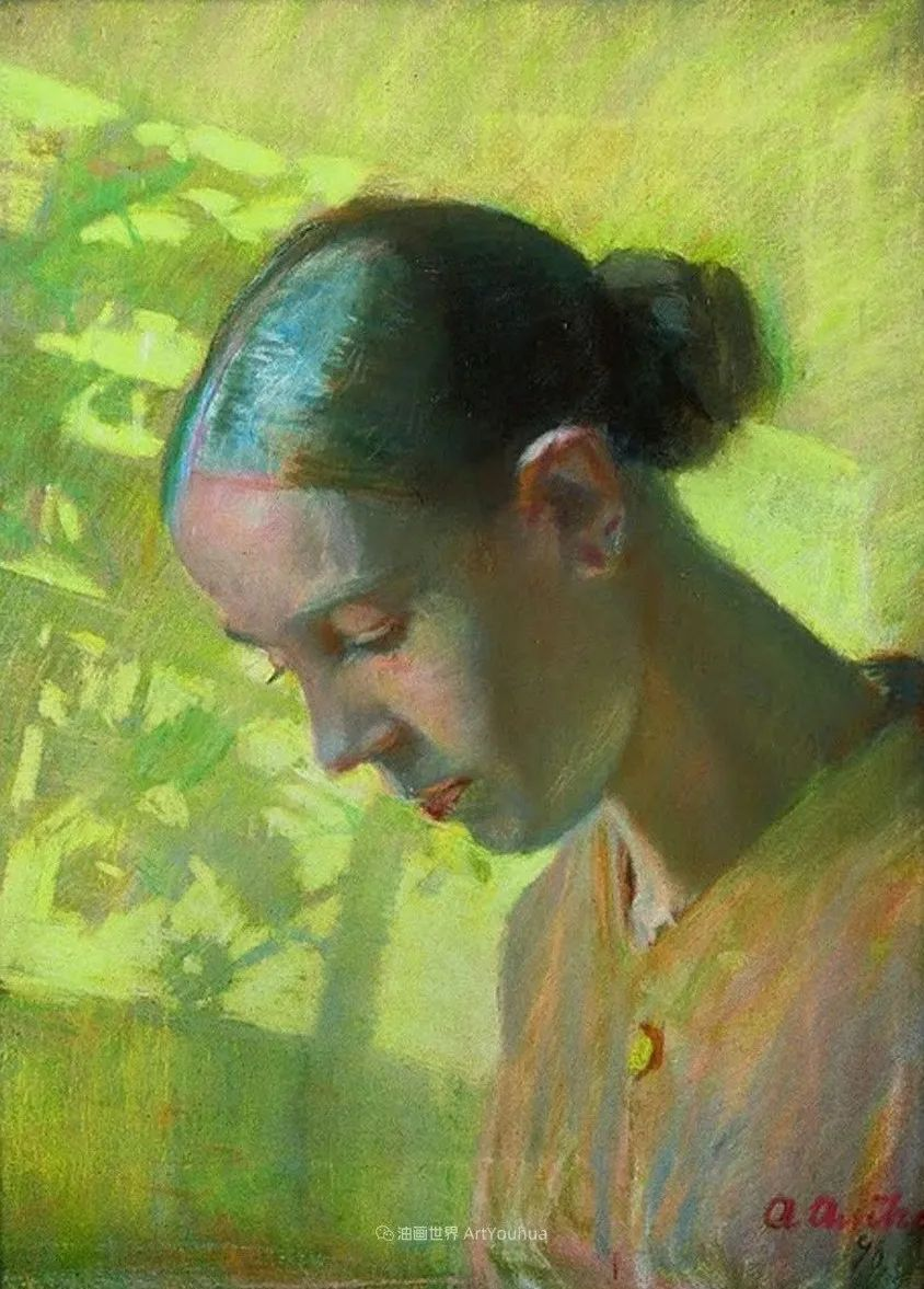 她非常专注于探索光和色彩,画面明亮、颜色细腻!插图57