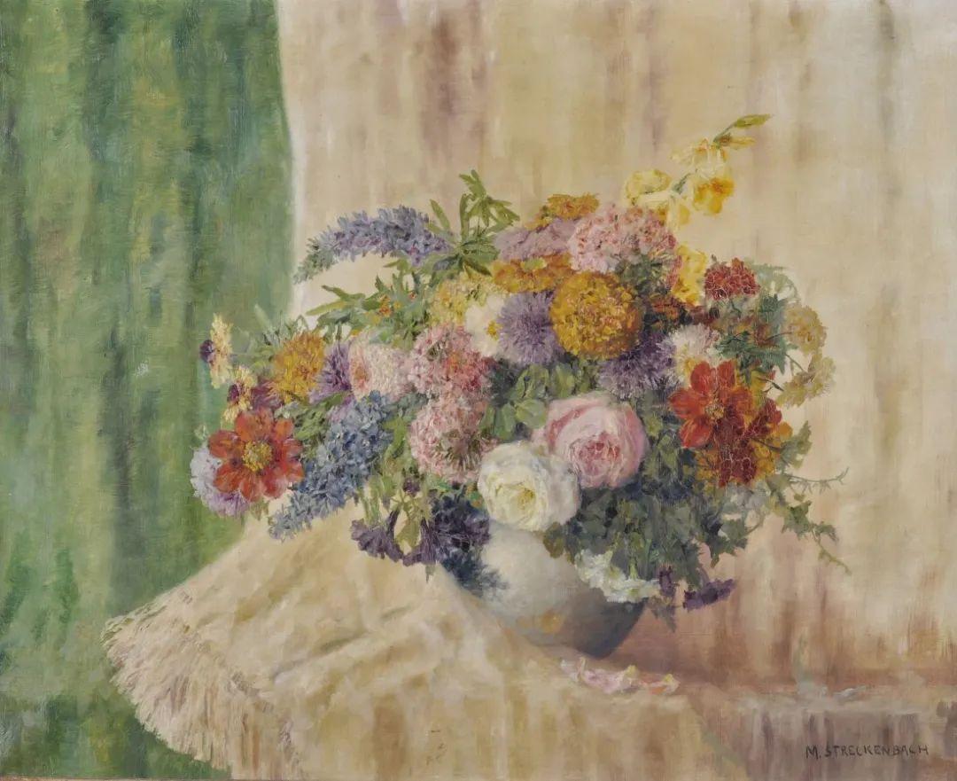 学医的他,37岁才开始自学绘画,笔下五颜六色的花束,太美了!插图53
