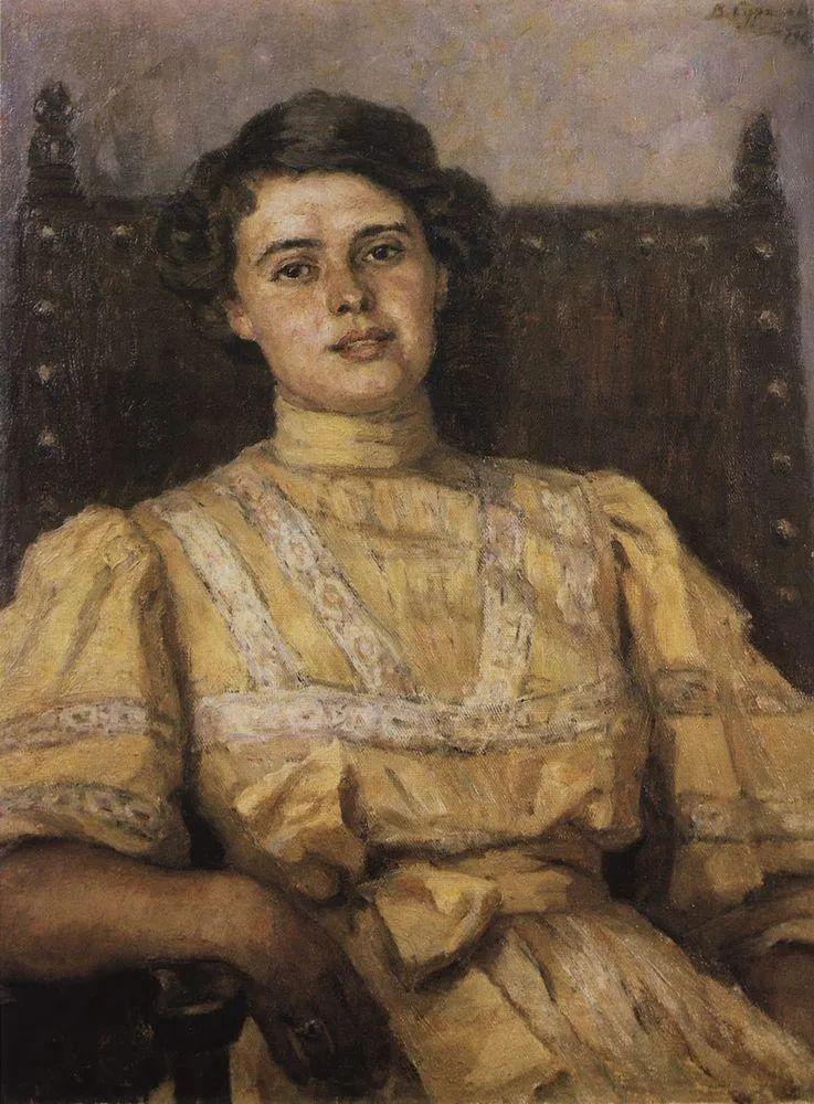 俄罗斯画坛先驱人物,瓦西里·苏里科夫人物作品选粹插图62