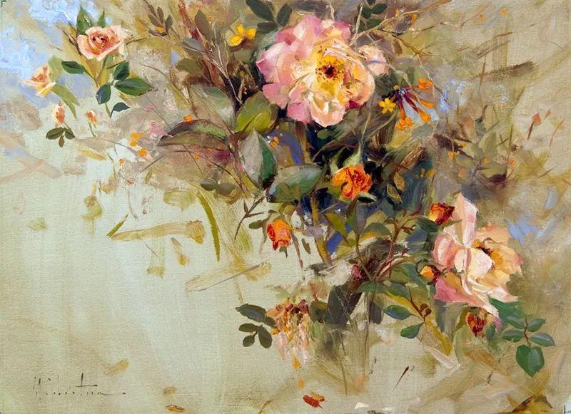 自学油画,她用真情描绘着周围的世界之美插图