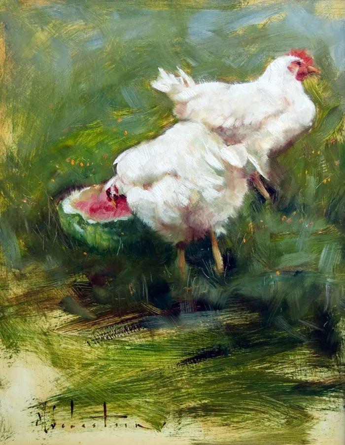 自学油画,她用真情描绘着周围的世界之美插图33
