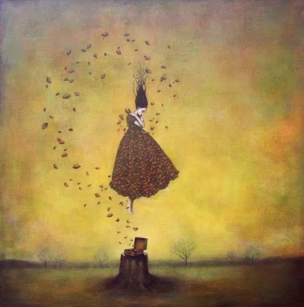 越南画家杜伊·怀恩的空灵绘画插图37
