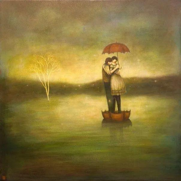 越南画家杜伊·怀恩的空灵绘画插图97